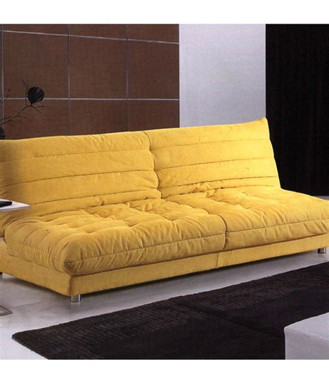 Yellow Sleeper Sofa Gaiety Sofa Bed Yellow Buy Gaiety Sofa Bed Yellow At Best Prices In India On Snapdeal