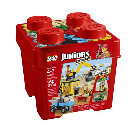 LEGO Juniors Construction 160 Piece Tub for $11.39   Free