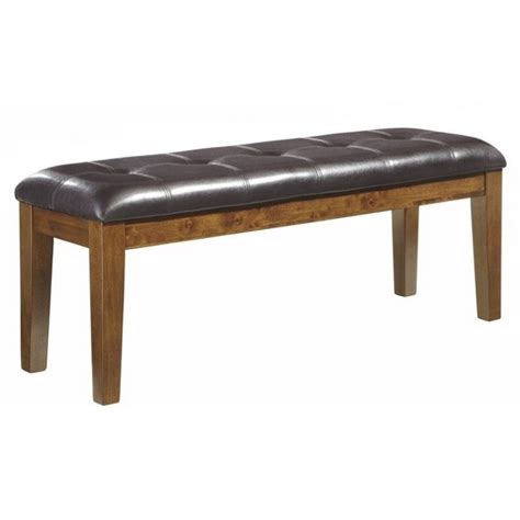 ashley furniture bench dining ashley furniture ralene dining room bench in medium brown