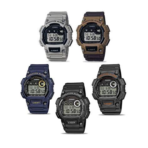 Casio W 735 Original jam tangan casio digital w 735 h series original
