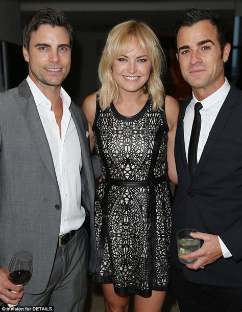 colin egglesfield y su esposa 2014 jennifer aniston hangs out justin theroux and courteney