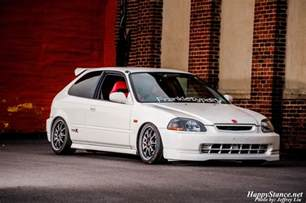 Honda Ek Coupe Honda Civic Hatchback Ek Stock Automotive