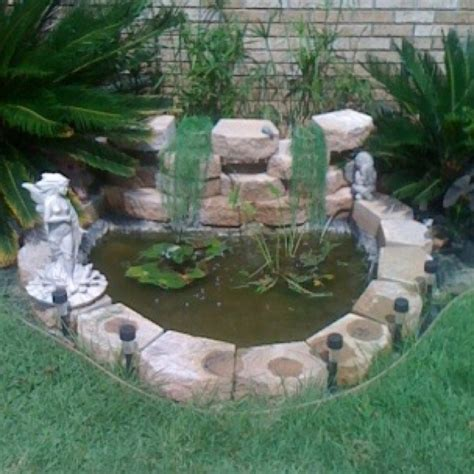 front yard pond food drink that i love pinterest