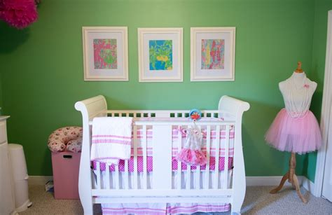 Lilly Pulitzer Crib Bedding by Vote January Room Finalists Project Nursery