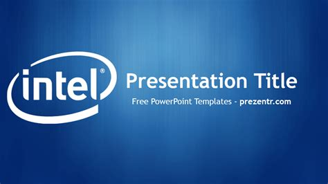 Intel Ppt Template Free Intel Powerpoint Template Prezentr Powerpoint Templates