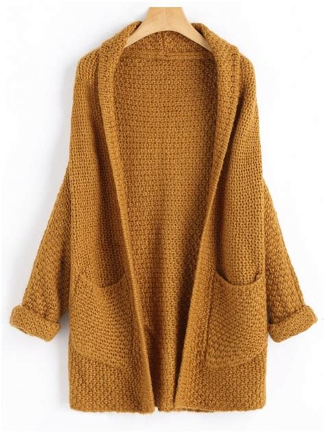 Open Front Light Cardigan 60 2018 curled sleeve batwing open front cardigan