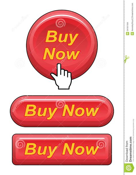 order now buying on web stock illustration 88098922 buy now buttons stock images image 34161184
