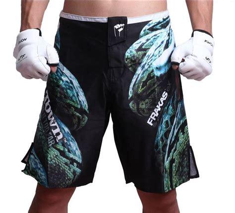 Mma Fighting Shorts Fitness Kick Boxing White Muay Thai ebuy360 mma shorts kick boxing shorts muay thai