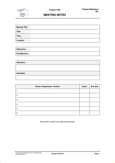 template meeting notes fax cover letter doc doc 500646 blank fax cover sheet