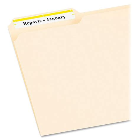File Folder Labels Templates 30 Per Sheet by Avery Filing Labels Ld Products