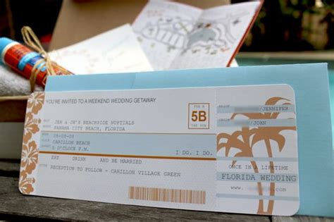 diy airplane ticket invitations printable templates