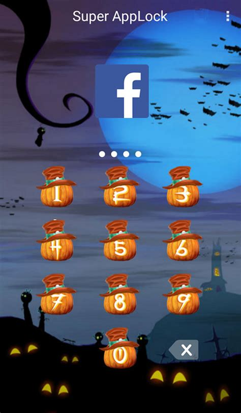 halloween themes for mobile download applock theme halloween v1 4 for android