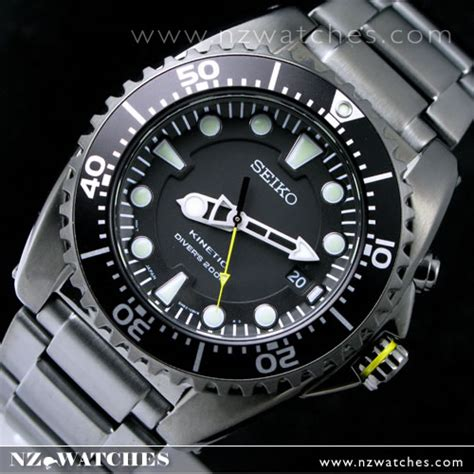 Seiko Kinetic Divers 200M TICN Watch   SKA427P1 « www.nzwatches.com