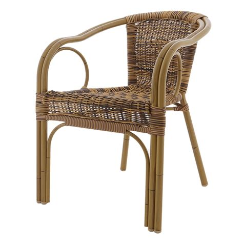 Wicker Armchair by Outdoor Wicker Armchair
