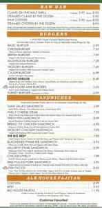 miller s ale house menu