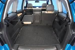 Opel Zafira Luggage Capacity Opel Zafira 2008 2009 2010 2011 2012 2013 2014