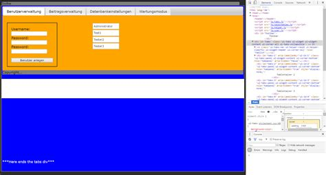 jquery css background color change background color jquery ui tabs background