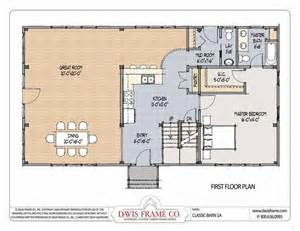 Shed Home Floor Plans by Hostetler Pole Barns With Living Quarters Barn Living