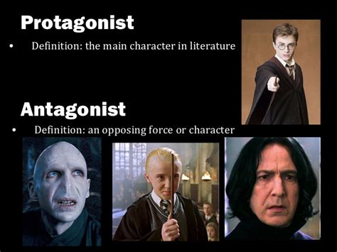 literary terms foreshadowing protagonist and antagonist