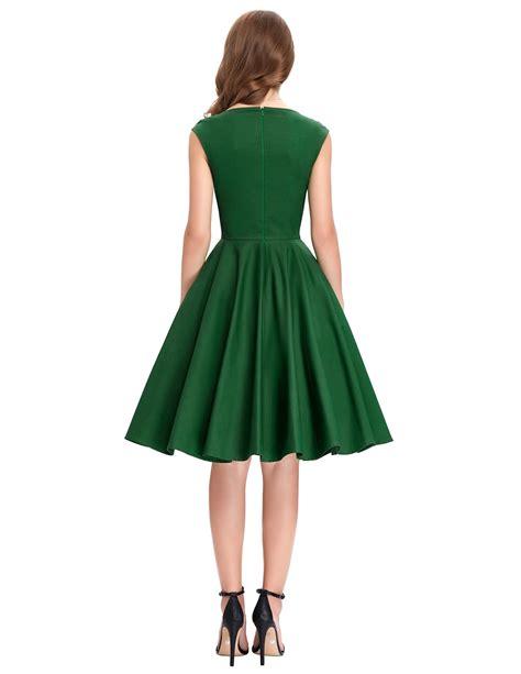sweetheart swing tiffany emerald sweetheart swing dress 1950sglam