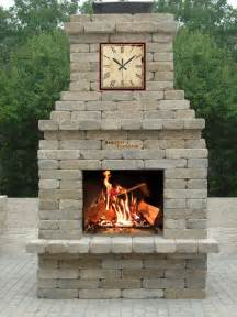southern tradition outdoor fireplace