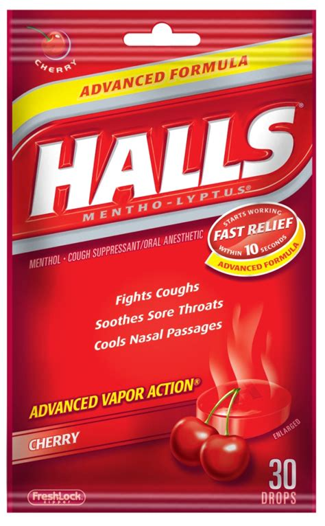 couch drops halls cough drops only 0 50 at rite aid