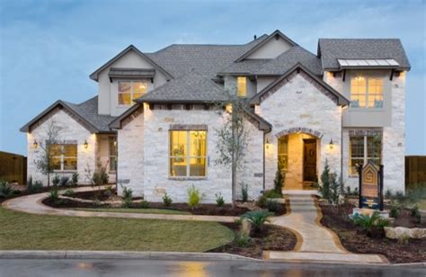 stonewall estates model home in san antonio modern