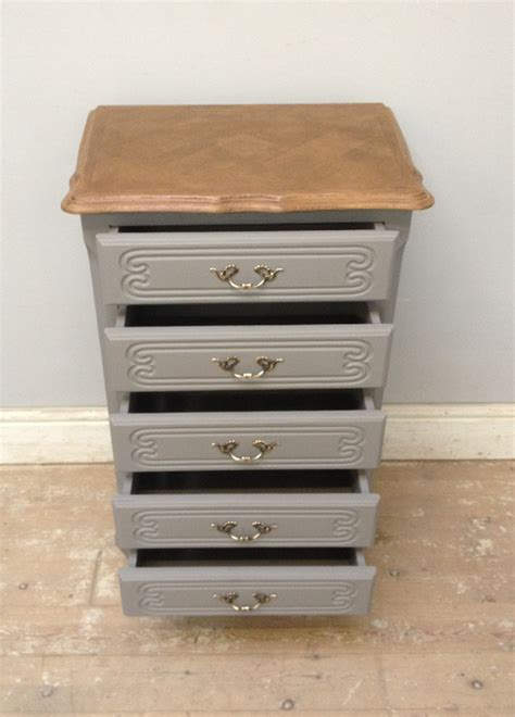 Slim Dresser Drawers by A3640 Vintage Slim Chest Of Drawers