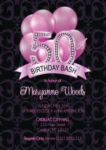 50th birthday invitation 50th birthday invitation