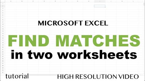 Excel Find Matching Values In Two Worksheets excel find matching values in two worksheets tables or