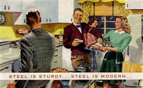 kitchen cabinet american history steel kitchen cabinets history design and faq retro