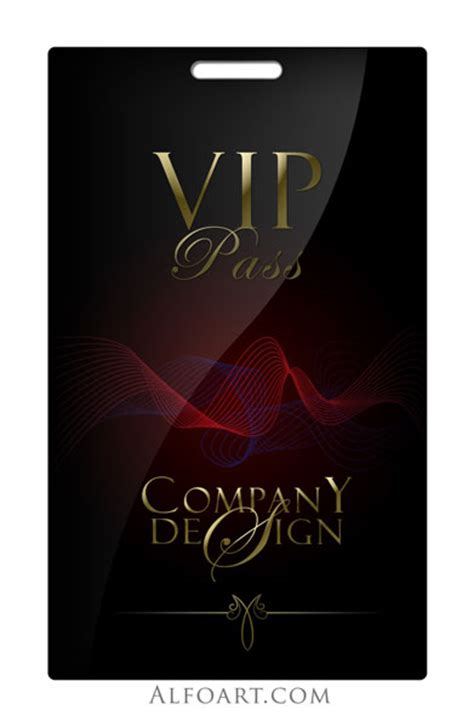 Vip Pass Templates Vip Badge Template