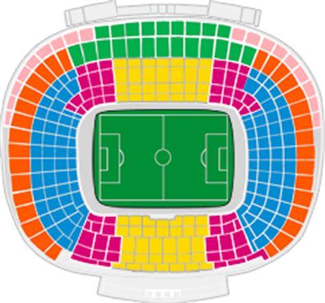 c nou stadium seat map fc barcelona vs germain fc barcelone billets