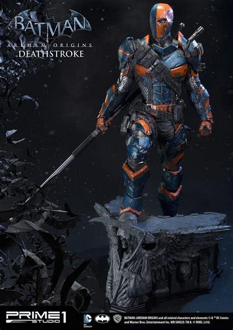 batman arkham origins deathstroke statue by prime 1 studio the toyark news