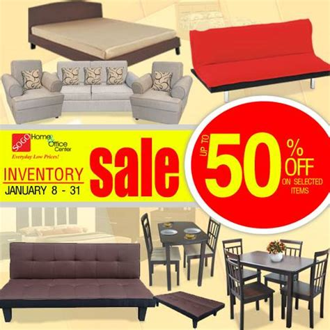sogo home office center inventory sale january 8 31