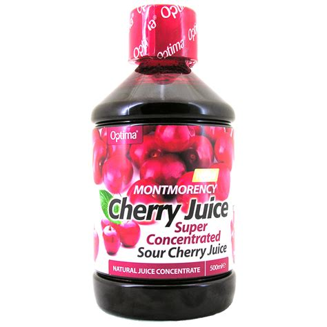 montmorency cherry juice super concentrated from optima