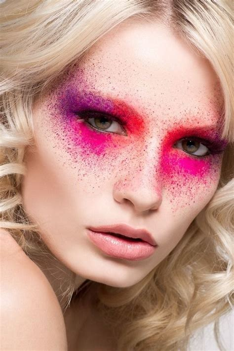 creative in make up but what we see in these hot girls wallpaper 27 color splash beauty or art stunning avant garde