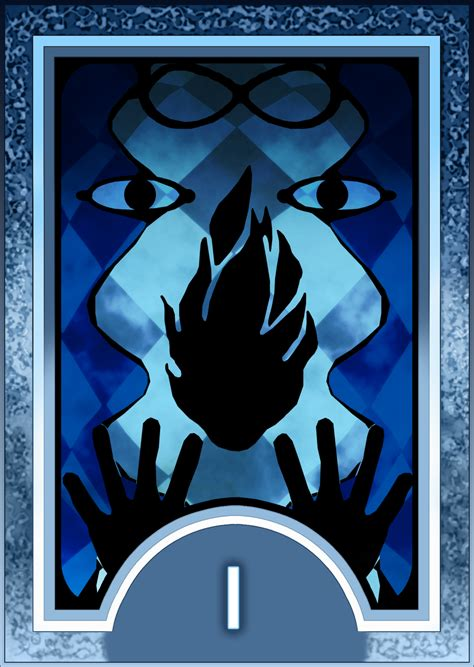 persona card template persona 3 4 tarot card deck hr magician arcana by