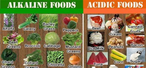 alimenti basici e alcalini mangiare e nutrirsi la giusta combinazione degli