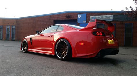 widebody supra mk4 supra mkiv on quot custom trd widebody with ridox