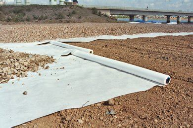 Landscape Fabric Thickness Typar Highways And Roads Geotextile Selection
