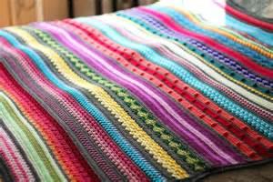 rainbow sampler crochet blanket pattern favecrafts com