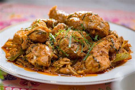 rendang ayam hari raya special daily makan