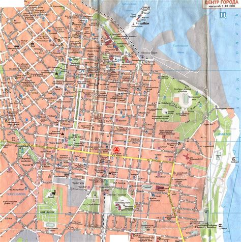 russia odessa map maps of odessa detailed map of odessa in maps