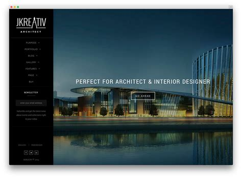 architect website design best wordpress themes for architects and architectural