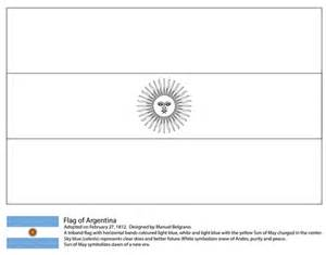 argentina flag coloring page free printable coloring pages