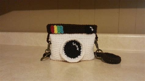 crochet camera bag pattern crochet camera handbag purse tutorial youtube