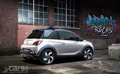 vauxhall adam rocks photos vauxhall adam rocks concept