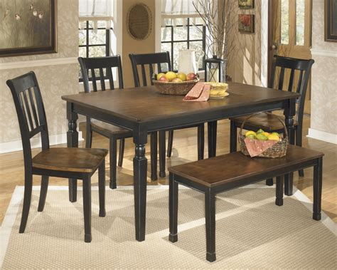Ashley Furniture Dining Bench Owingsville Rectangular Dining Room Table D580 25