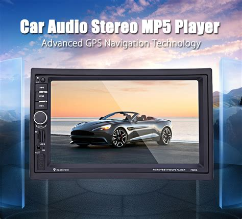 7020g 7 Inch Car Audio Stereo Mp5 Player 12v Auto